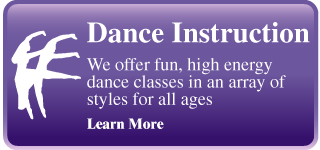 Dance Instruction | We offer fun, high energy dance classes in an array of styles for all ages | Learn More